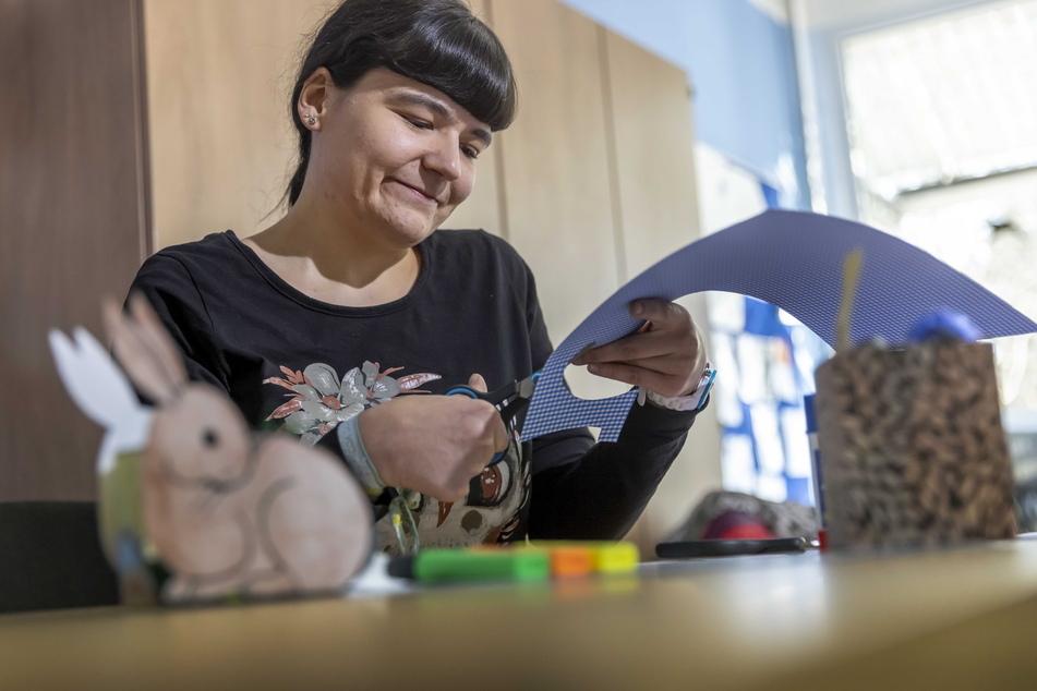 Koordinatorin Madeleine Kaiser (26) hellt den Alltag von Kindern auf.