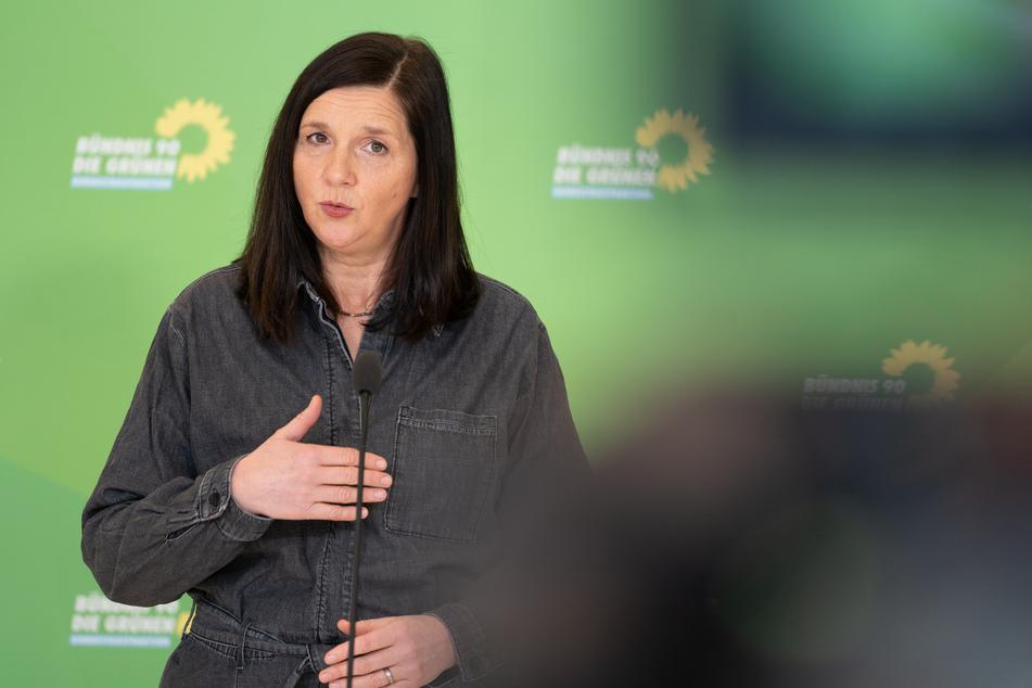 Katrin Göring-Eckardt, Fraktionsvorsitzende von Bündnis90/Die Grünen.