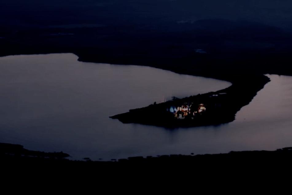Bei verschiedenen Events wird in Ferropolis bei Gräfenhainichen die Nacht zum Tag gemacht.