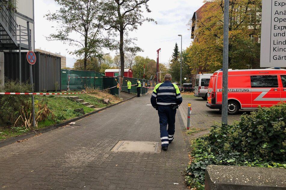 Die Bombe aus dem Zweiten Weltkrieg wurde auf dem Gebiet der Uniklinik Köln in Köln-Klettenberg gefunden.