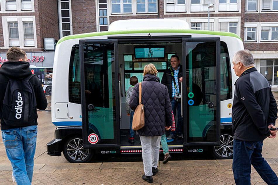 Leipzig: Erstes Pilotprojekt zum autonomen Fahren: In Leipzig fährt der Bus bald ohne Fahrer