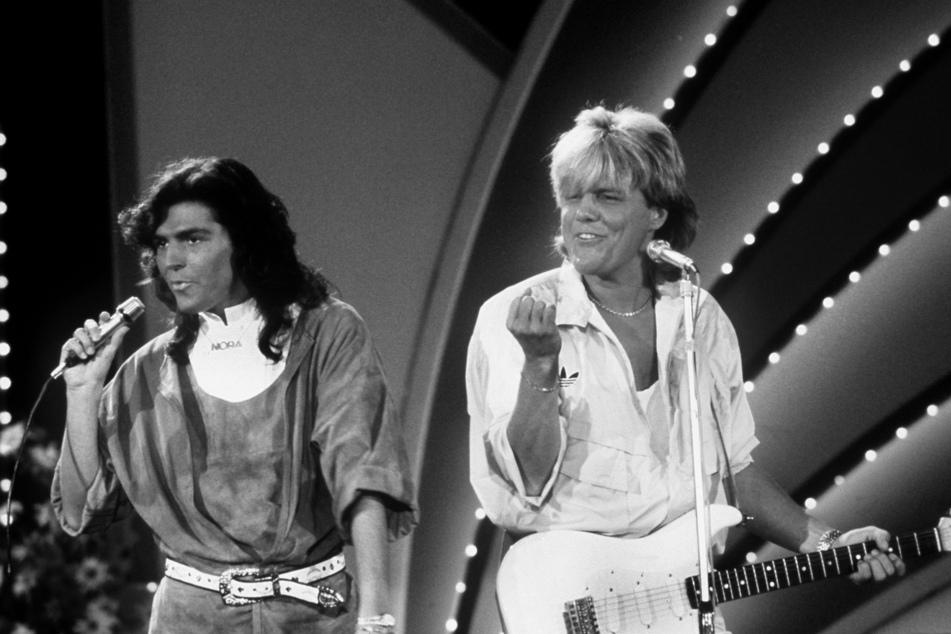 """Dieter Bohlen wurde in den 80er Jahren mit """"Modern Talking"""" bekannt."""