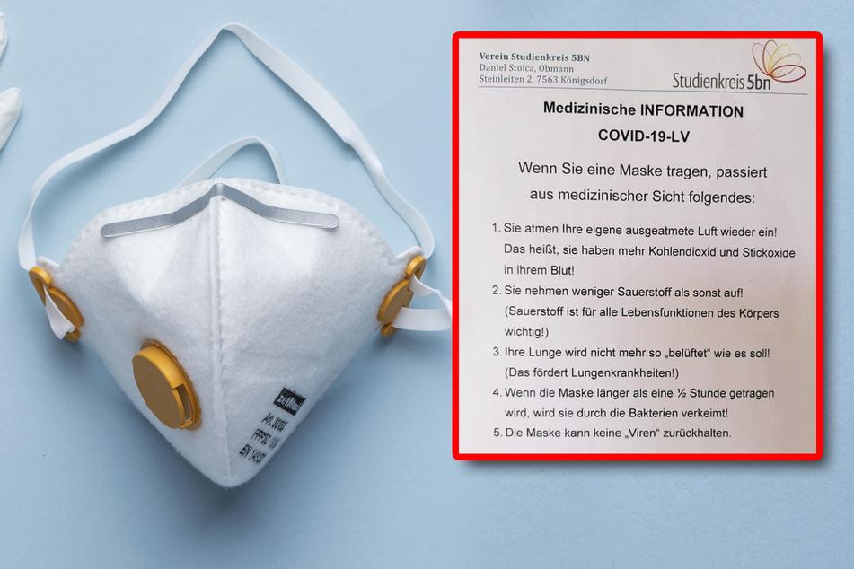 Fördert das Tragen von Masken Lungenkrankheiten?