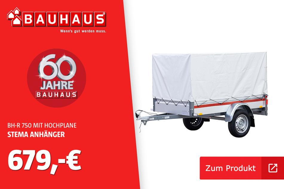 DerStema-Anhänger für 679 Euro.