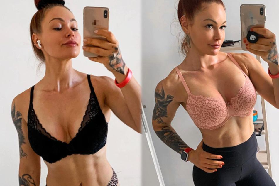 Fitness-Influencerin LeaLovesLifting (22) präsentiert sich und ihren Körper oft und gerne in freizügigen Posen.