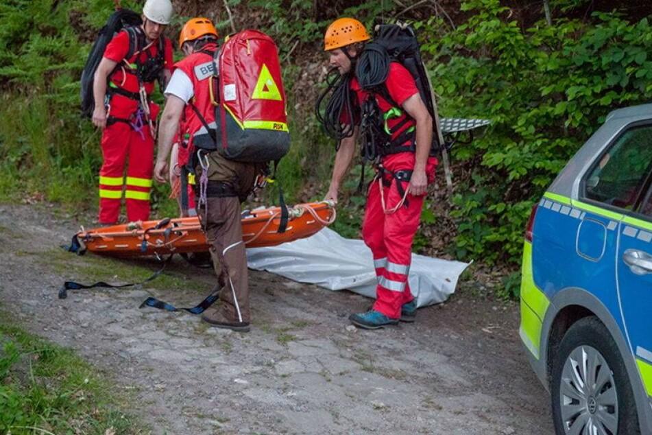 Wanderer stürzt 15 Meter in die Tiefe - tot!