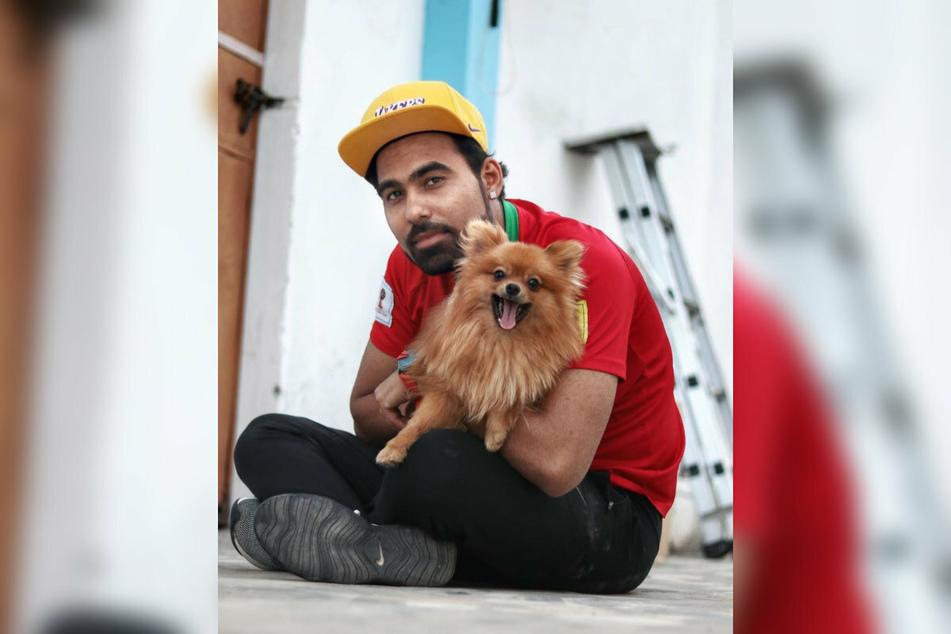 Der indische YouTuber Gaurav Sharma (32) zeigt sich gern mit seinem Hund auf Instagram. Der Vierbeiner besitzt sogar ein eigenes Profil.