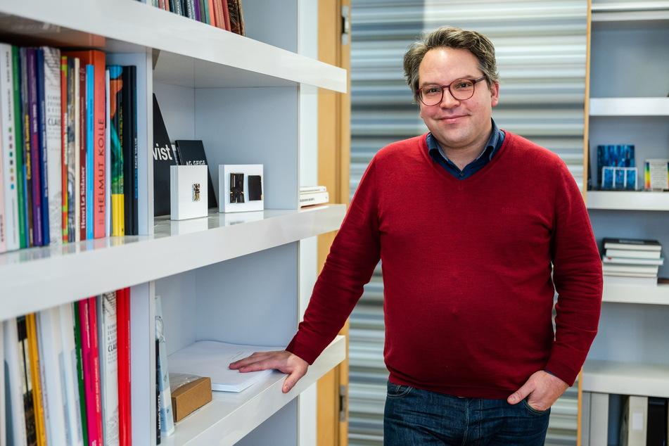 Frédéric Bußmann (46), Generaldirektor der Kunstsammlungen Chemnitz, hofft, dass auch überregionale Großsponsoren Chemnitz als Kulturhauptstadt unterstützen.