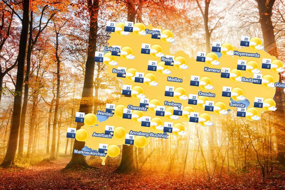 Spätsommer-Traum in Sachsen: Das Wochenende wird sonnig und wolkenlos