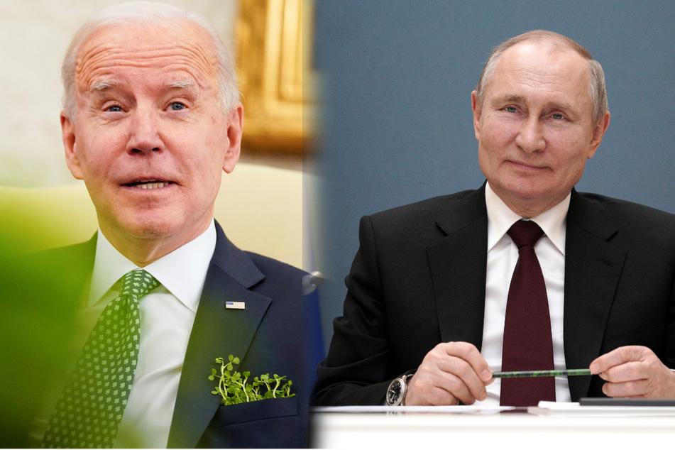 """Putin nach Bidens Kritik: """"Ich wünsche ihm Gesundheit"""""""