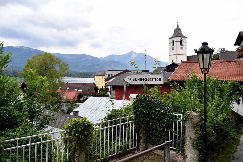 Der Tourismus im Ort St. Wolfgang in Österreich leidet mit am meisten unter Corona. Dort gibt es aktuell 53 Infektionen. (Archivbild)