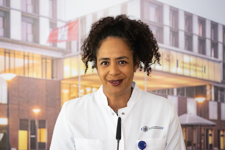 Die Leiterin der Infektiologie, Professor Dr. Marylyn Addo (51).