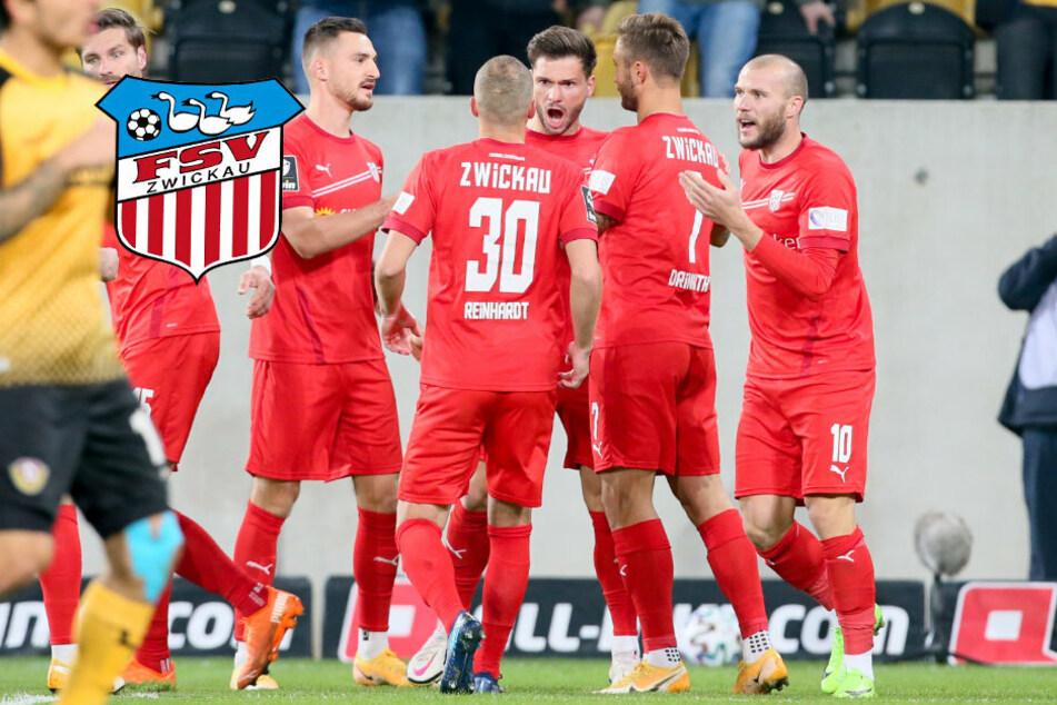 Dynamos Löwe böse umgegrätscht! Für FSV Zwickau-Kicker Reinhardt wird Derby-Sieg zur Nebensache
