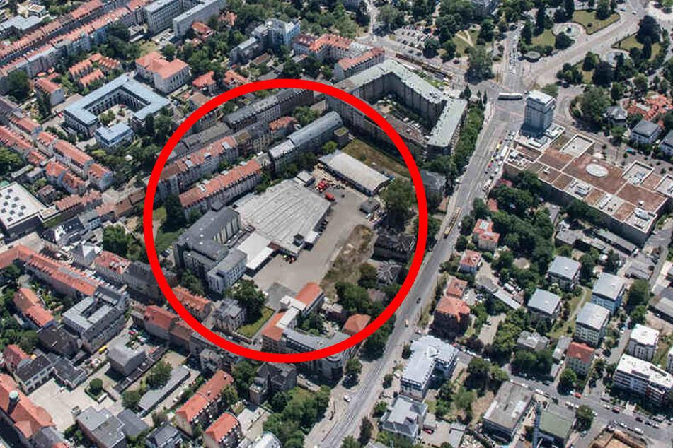 Das Gelände der Dental-Kosmetik soll teilweise bebaut werden. Die Fabrik bleibt aber bestehen.