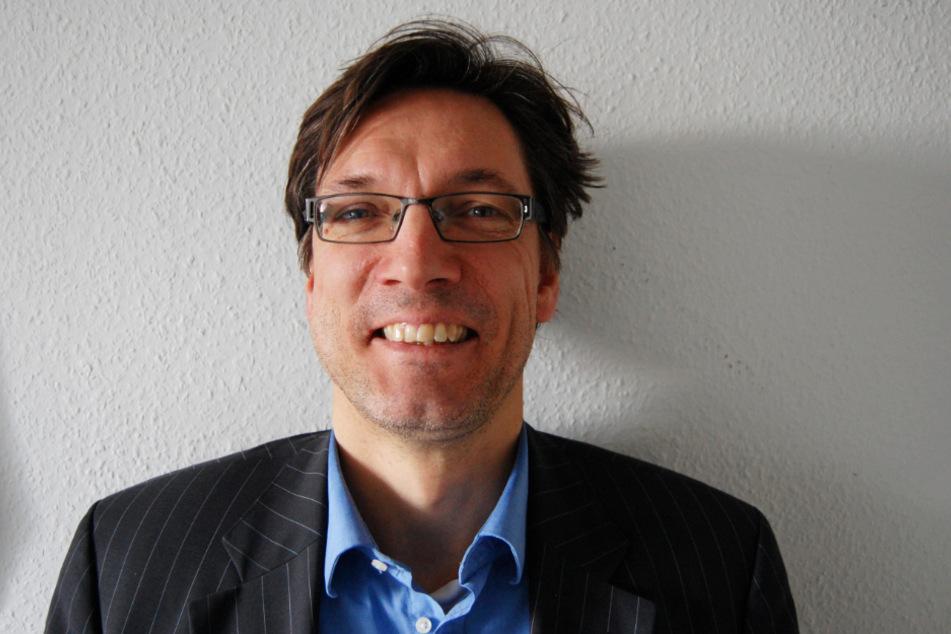 Max-Peter Heyne (55) ist beim Filmkunstfest MV für das Marketing verantwortlich. Darüber hinaus ist er seit Jahrzehnten auch als Filmkritiker unterwegs.