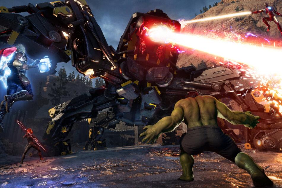 Im Multiplayer dürft Ihr Euch dann noch neben unübersichtlichen Kämpfen auch mit Performance-Problemen rumschlagen. So haben wir uns die Ankunft der Avengers leider nicht vorgestellt.