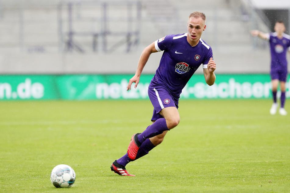 FCE-Stürmer Florian Krüger träumt von der 1. Liga, macht sich aber selbst keinen Druck.