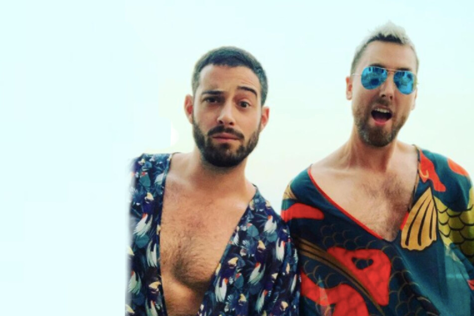 """*NSYNC's Lance Bass drops frighteningly funny TikTok of """"the best announcement ever"""""""