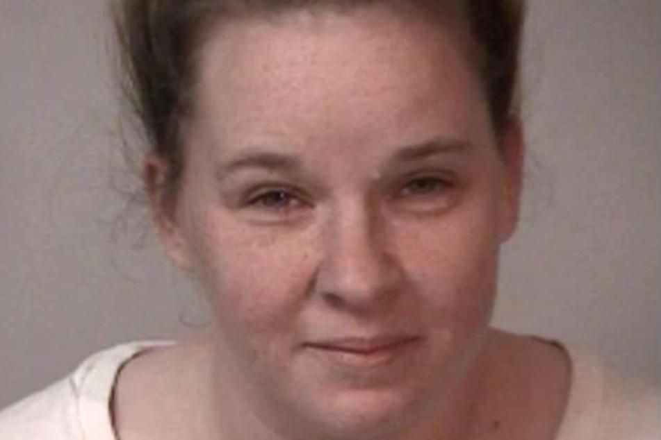 Megan W. (32) auf einem Gefängnis-Foto.