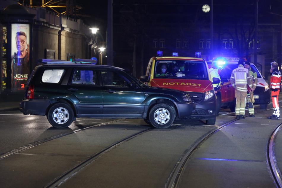 Bei dem Unfall gab es glücklicherweise keine Verletzten.