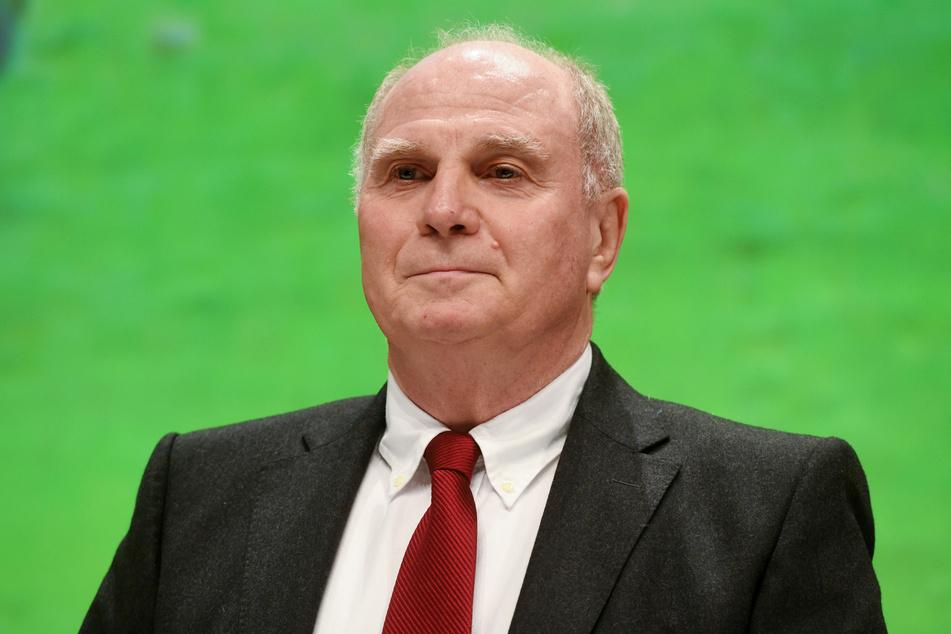 Der frühere Präsident des FC Bayern, Uli Hoeneß (69),
