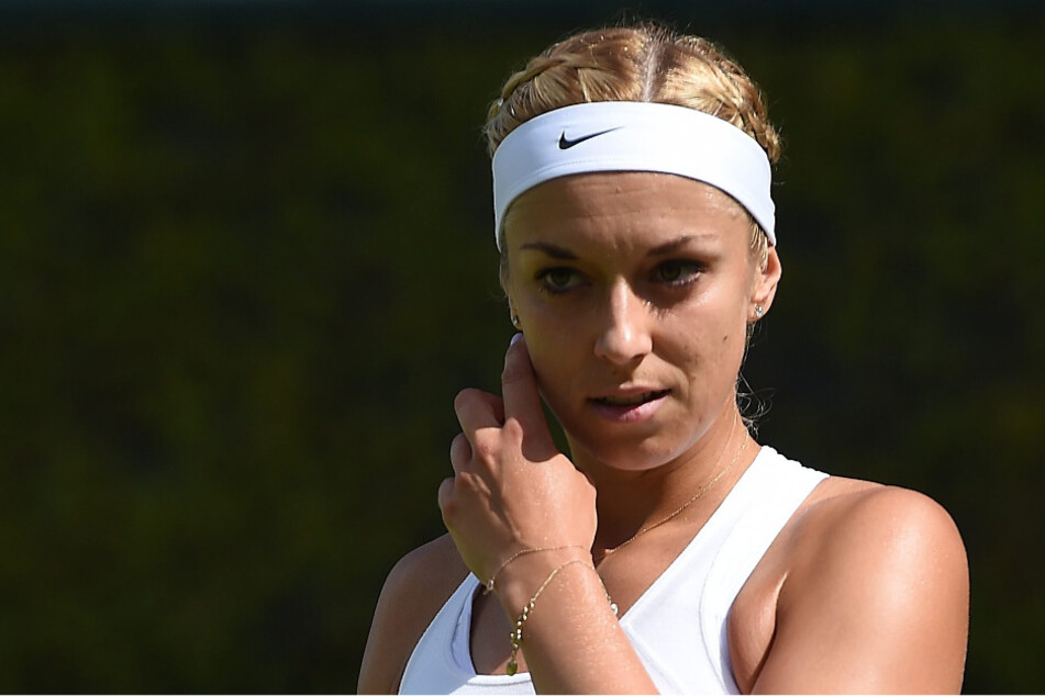 Sabine Lisicki während ihres Drittrundenspieles in Wimbledon 2016. (Archivfoto)