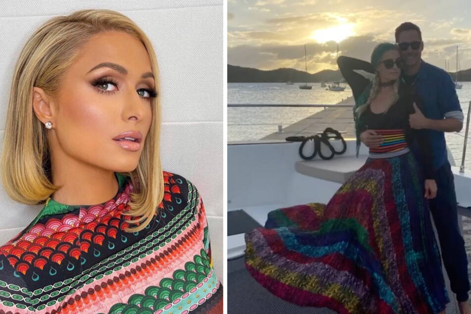 Paris Hilton addresses those pregnancy rumors