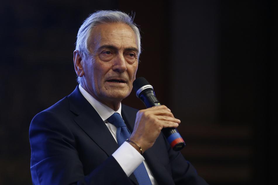 FIGC-Präsident Gabriele Gravina (66). (Archivbild)