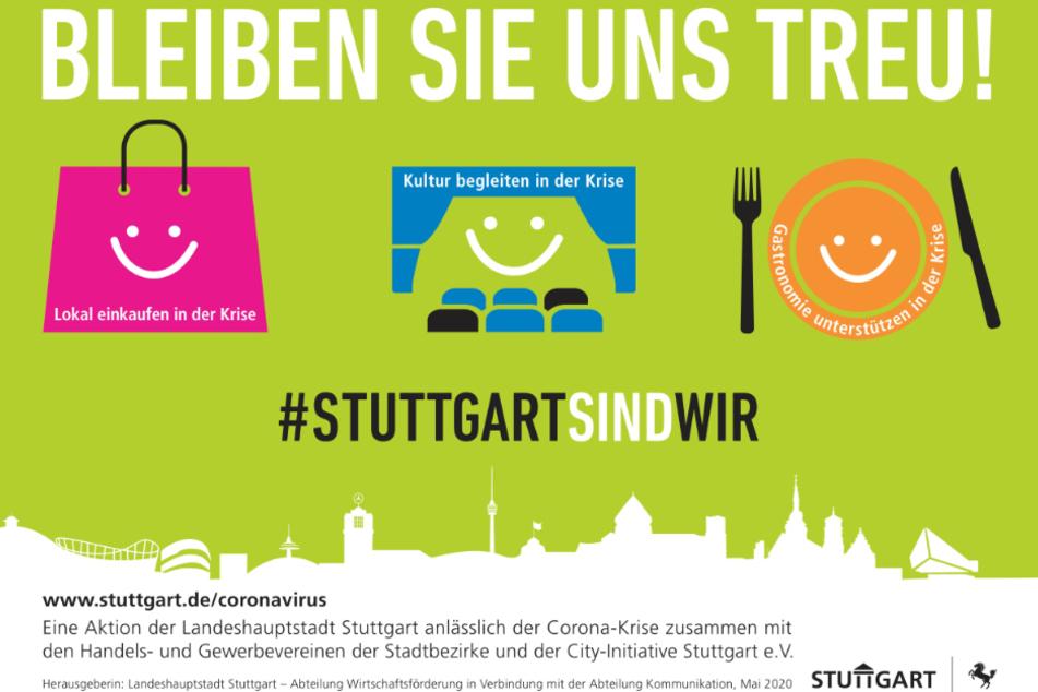Plakat der Kampagne.