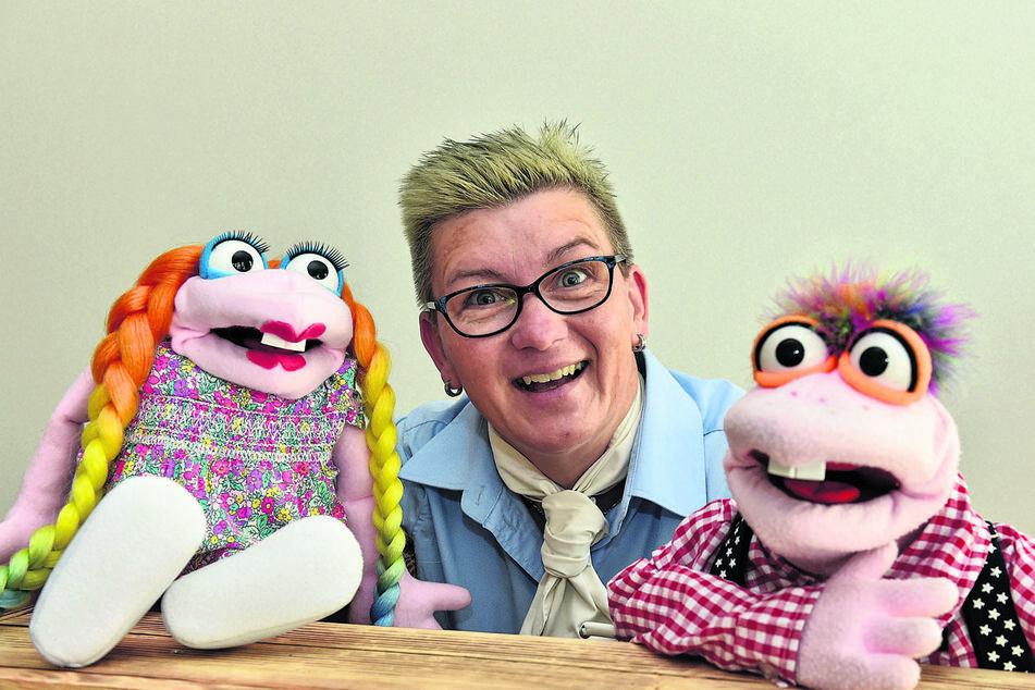 Manuela Beßer (48) ist mit ihrem Kinderservice in Pieschen gut gestartet.