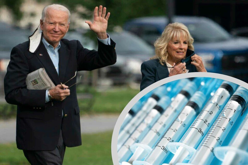 President Biden and Dr. Jill Biden en route to Europe this week from the White House.