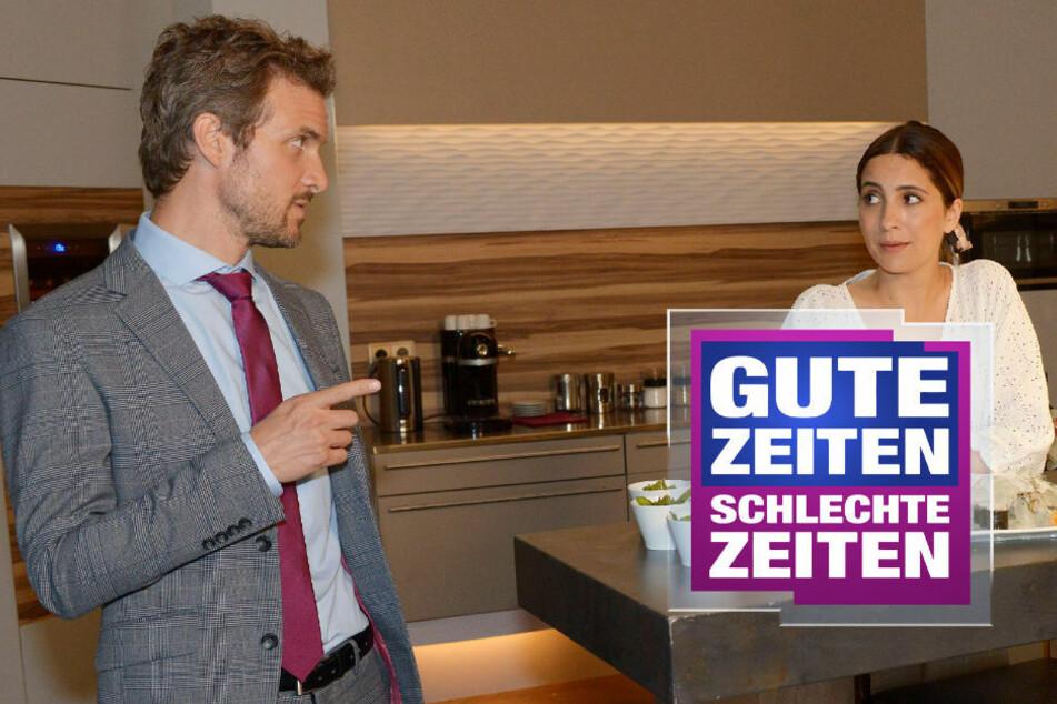 GZSZ: Ein Foto bringt Felix in Erklärungsnot vor Laura