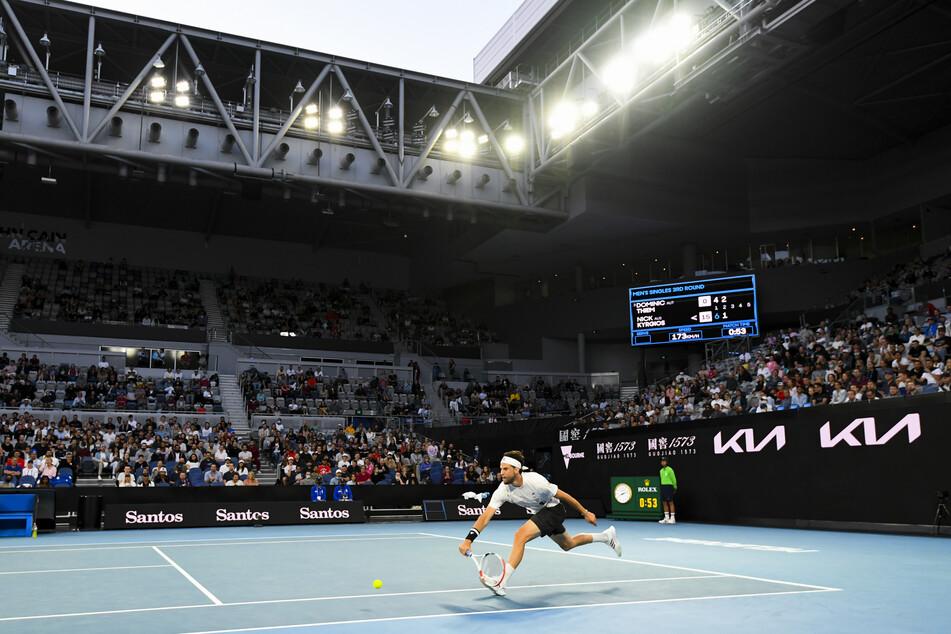 Hier konnten noch Zuschauer bei den Australian Open zusehen.