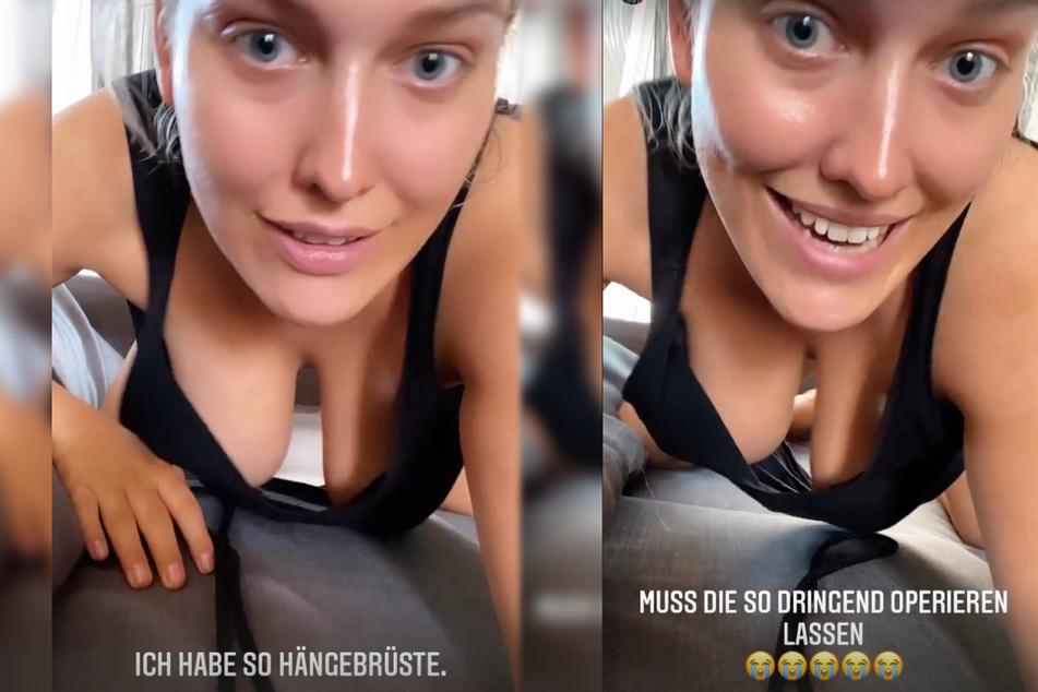 In einigen Instagram-Storys vom Montag klagte Josimelonie (27) über ihre Brüste und erklärte, dass sie diese durch eine erneute Operation wieder in Form bringen lassen möchte.