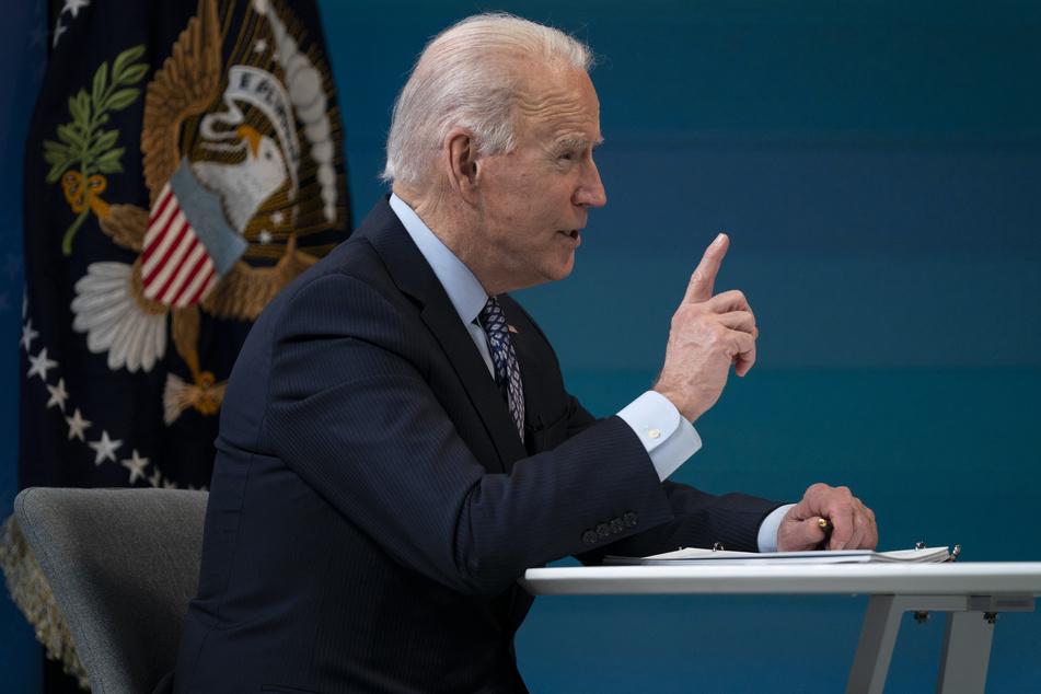 US-Präsident Joe Biden (78) ließ Luftangriffe im Osten Syriens durchführen.