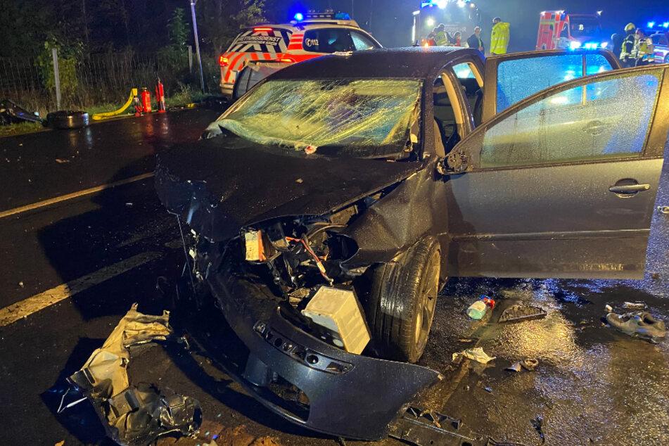 Vier Schwerverletzte bei Horror-Crash in Windeck