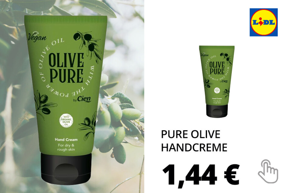 Pure Olive Kosmetikartikel - Handcreme