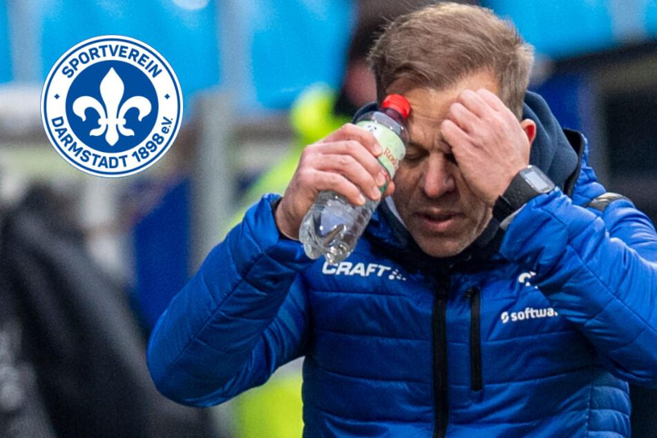 """""""Darfst du nicht verlieren"""": Darmstadt 98 nach später Pleite in Bochum bedient"""