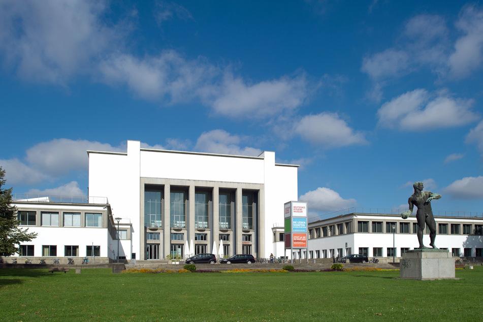 Das Deutsche Hygiene-Museum in Dresden ist am Sonntag ebenfalls am Start.