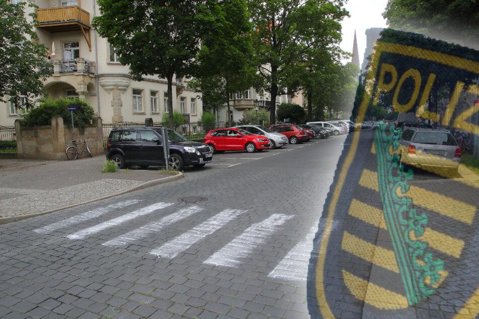 Zebrastreifen auf Fahrbahn gesprüht: Polizei nimmt zwei Männer fest!