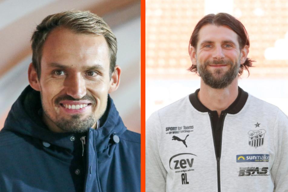 FSV-Sportchef Toni Wachsmuth (34, l.) hat die Quarantäne überstanden und auch Co-Trainer Robin Lenk (36) ist nach seiner Sperre wieder dabei.