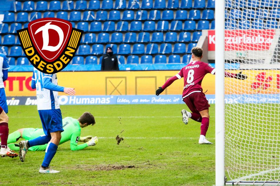 Dynamo-Neuzugang Mörschel knackt das Magdeburger Abwehrbollwerk im Elb-Clasico!