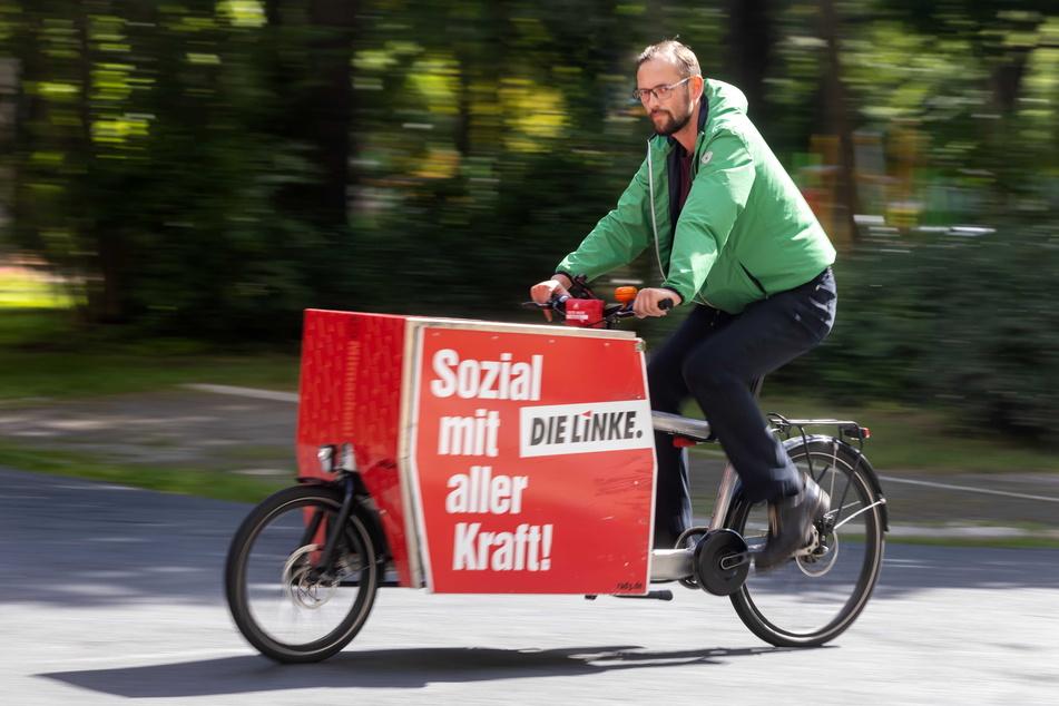 Am Weltfriedenstag wollen die Linken gegen den Krieg und für die Mobilitätswende in die Pedale treten.