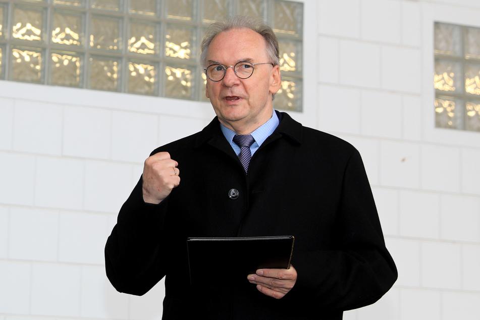 Sachsen-Anhalts Ministerpräsident Reiner Haseloff (67, CDU).