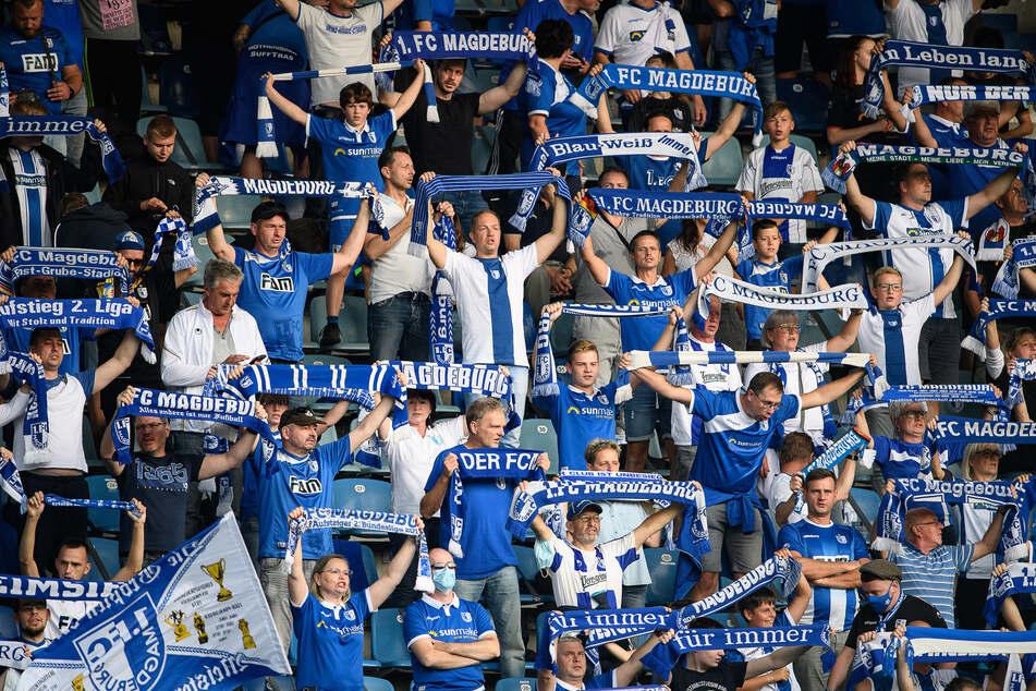 In der Magdeburger MDCC-Arena waren nach langer Zeit endlich wieder Zuschauer erlaubt.