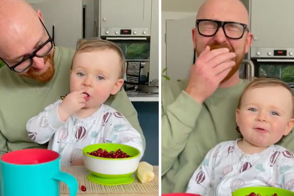 Whoa baby! Creepy toddler terrifies parents with demonic-sounding first word