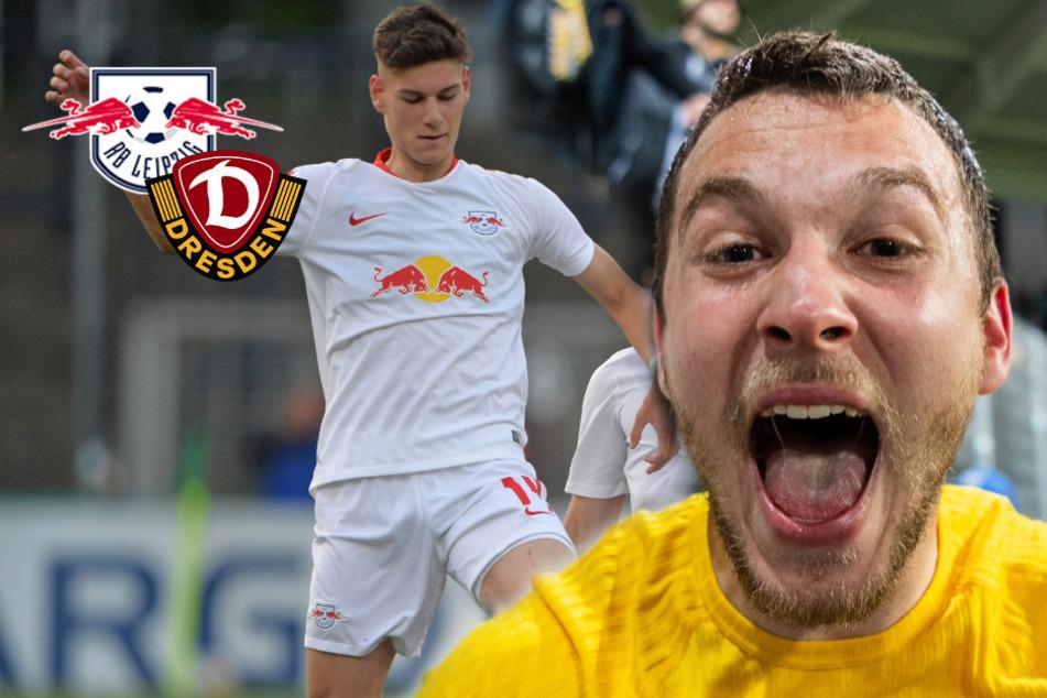 Löwe zerlegt die Bullen: So endete der Ost-Kracher zwischen RB Leipzig und Dynamo Dresden!