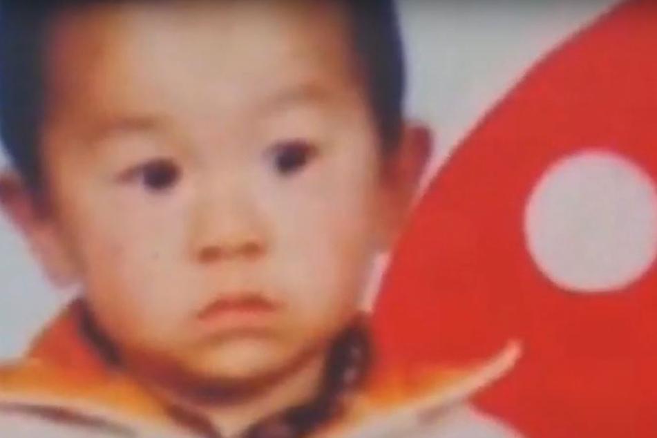 Ein unscharfes Bild, eine unscharfe Erinnerung: Mit zwei Jahren verschwand der Sohn von Mr. Guo Gangtang.