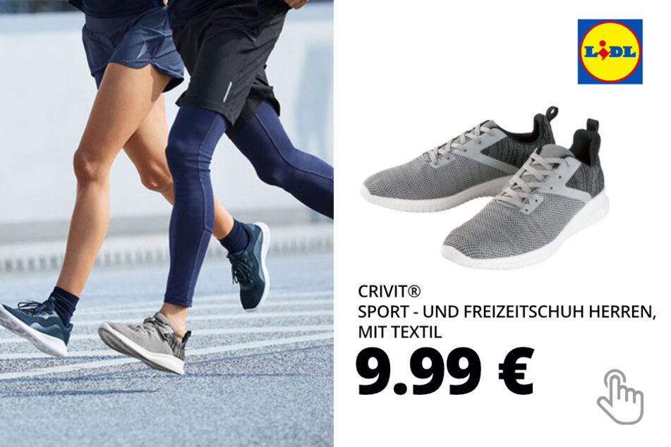 CRIVIT® Sport - und Freizeitschuh Herren, mit Textil