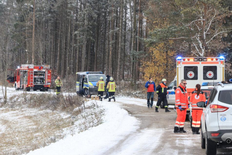 Tragödie im Wald: Familie findet toten Angehörigen